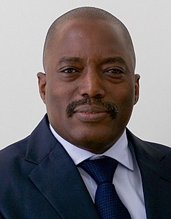 Joseph Kabila President of the Democratic Republic of the Congo