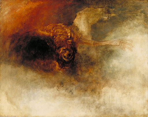 Joseph Mallord William Turner - Death on a pale horse - Google Art Project