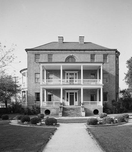 January 12: Charleston Museum, the first museum in the American colonies is established Joseph Manigault House (Charleston).jpg