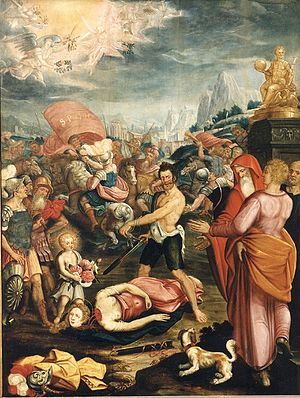 Josse van der Baren - The Martyrdom of Saint Dorothea, central panel