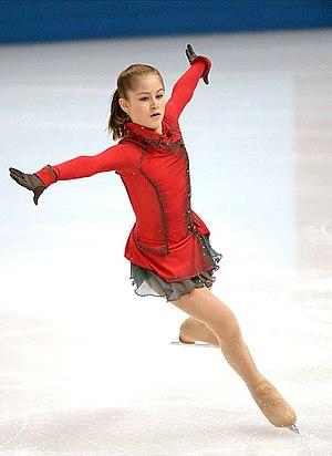 Yulia Lipnitskaya - Lipnitskaya at the 2014 Winter Olympics