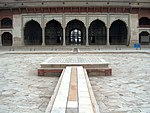 July 9 2005 - The Lahore Fort-The five arches of the Shish Mahal.jpg