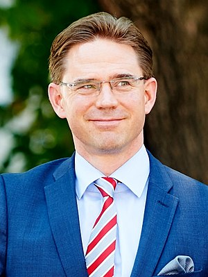 Open Innovations (event) - Image: Jyrki Katainen in June 2013 (cropped)