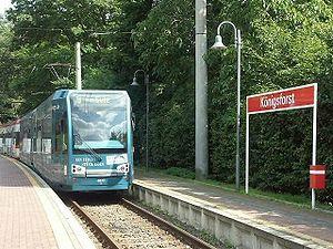 Königsforst (KVB) - Königsforst station