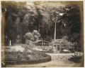 KITLV - 12675 - Deer park of the Government House in Paramaribo - circa 1890.tif