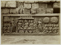 KITLV 27994 - Kassian Céphas - Relief of the hidden base of Borobudur - 1890-1891.tif