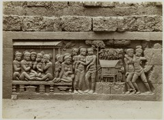 KITLV 28013 - Kassian Céphas - Relief of the hidden base of Borobudur - 1890-1891.tif