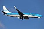 KLM Boeing 737-800 PH-BGA 180107 LHR 0032 (27877263899).jpg