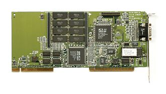 VESA Local Bus - An ATI MACH64 SVGA VLB graphics card
