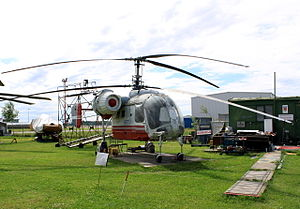 Kamov Ka-26 - Ka-26 in aviation museum, Riga, Latvia