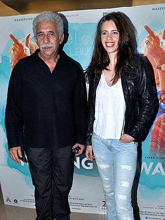 Waiting (2015 film) - Kalki Koechlin (right) and Naseeruddin Shah were chiefly praised for their performances.