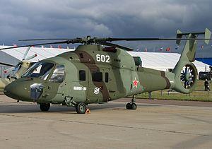 Kamov Ka-60 - Early configuration Ka-60 demonstrator at MAKS 2009.