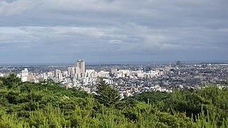 Kanazawa - Kanazawa view from Utatsuyama Park