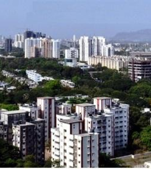 Eastern Suburbs (Mumbai) - View of Kanjurmarg looking toward the South West