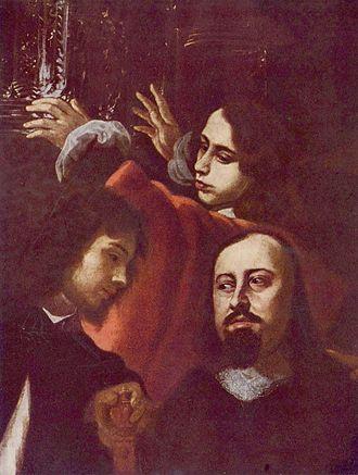 Portrait of the gem-cutter Dionysio Miseroni and his family - Image: Karel Skréta 001