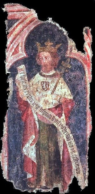 Luxembourg - Charles IV, the 14th-century Holy Roman Emperor and king of Bohemia from the House of Luxembourg