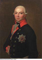 Portrait of Karl Prinz von Hessen-Philippsthal