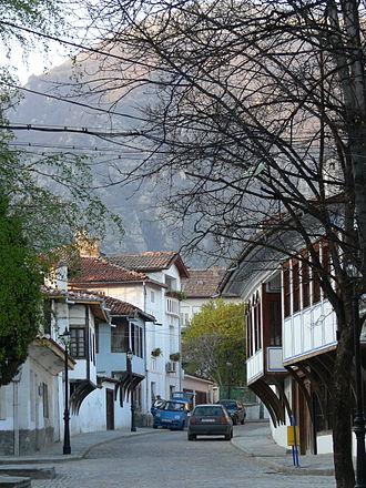 Karlovo - Street in Karlovo