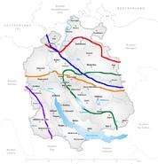 Karte Kanton Zürich Sprache