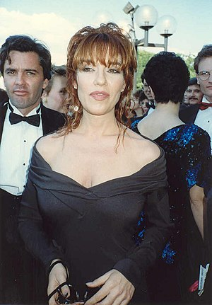 Katey Sagal - Katey Sagal at the 41st Emmy Awards in 1989