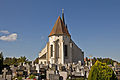 Kath. Pfarrkirche hll Peter und Paulus in Drosendorf Altstadt - Ostansicht.jpg