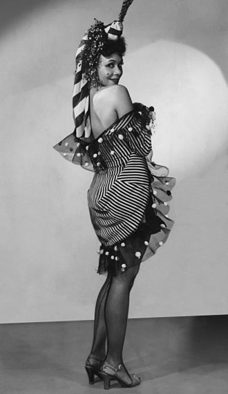 Katherine Dunham - Katherine Dunham in Tropical Review, Martin Beck Theatre