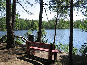 Kauniainen - Lake Gallträsk