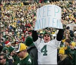 "Matt Millen - Rival Green Bay fans insisting the Lions ""Keep Millen."""