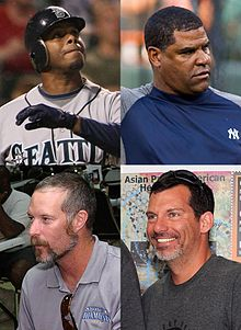 Ken Griffey, Jr. - Mike Harkey - Jack McDowell - Mike Remlinger.jpg