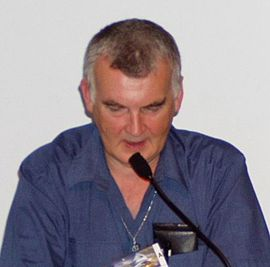 Addressing the 63rd World Science Fiction Convention, Glasgow, August 2005