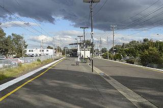 Keon Park railway station railway station in Thomastown, Melbourne, Victoria, Australia