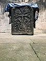 Khachkar inside in S. Astvatsatsin Church (Jukhtak Vank).jpg
