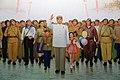 Kim Ir-sen ve vstupní hale Muzea vlastenecké války - panoramio.jpg
