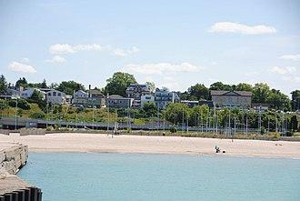 Kincardine, Ontario - Image: Kincardine Station Beach