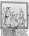 King's evil; Edward the confessor touching for the evil. Wellcome M0011314.jpg