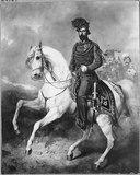King Charles XV of Sweden on Horseback (Carl Frederik Kiörboe) - Nationalmuseum - 18215.tif
