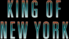 Description de l'image King of New York (Film) Logo.png.