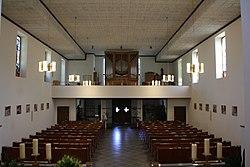 Kirche StLeopold Klosterneuburg Kirchenraum Richtung Chor Img 0012465 01.jpg