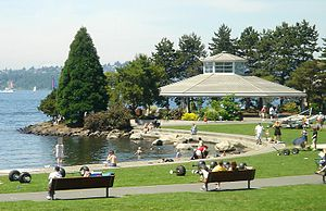 Kirkland, Washington - Marina Park in Kirkland