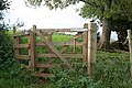 Kissing Gate on the John Musgrave Heritage Trail - geograph.org.uk - 1014302.jpg