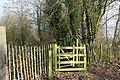 Kissing gate, Darent Valley Path - geograph.org.uk - 1720399.jpg
