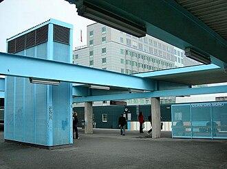 Kista metro station - Image: Kistatunnelbana