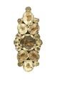 Klädsmycke av guld och bergkristall från 1670 cirka - Livrustkammaren - 97926.tif