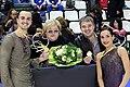 Klimov, Mozer, Zhovnirski and Stolbova - 2014 GP France.jpg