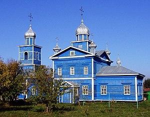 Ibresinsky District - Church in Village Klimovo, Ibresinsky District