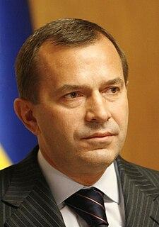 Andriy Klyuyev Ukrainian politician