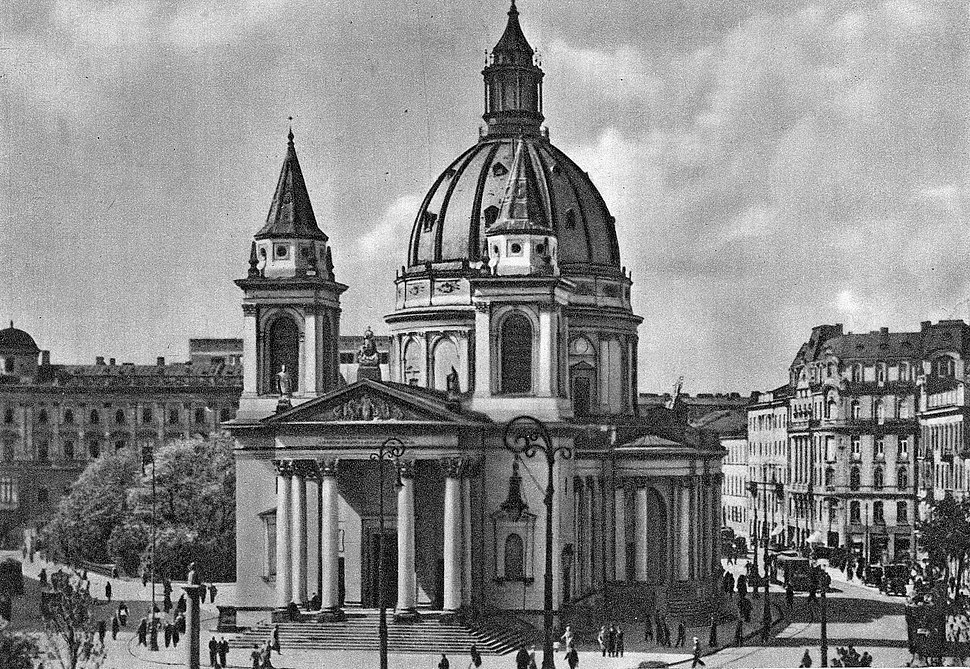 Kościół św. Aleksandra w Warszawie przed 1939