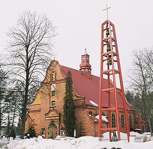 Kalety - Saint Francis Church in Kalety-Miotek