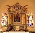 Kościół Niedobczyce ołtarz345.jpg