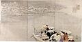 Kobayashi Kiyochika (1847-1915), Februari, riviermond bij de berg Matsuchi in de winter (1880-90).jpg
